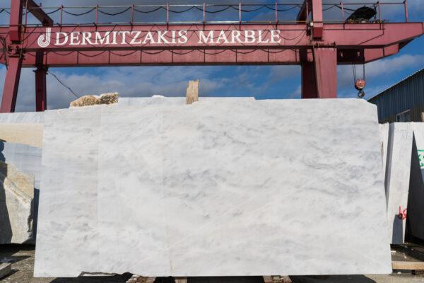 snow white marble
